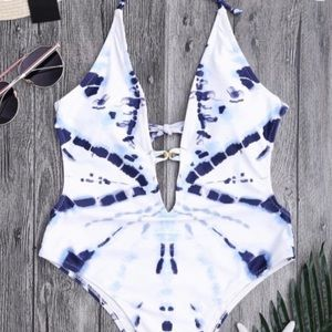 The Dye one piece bathing suit